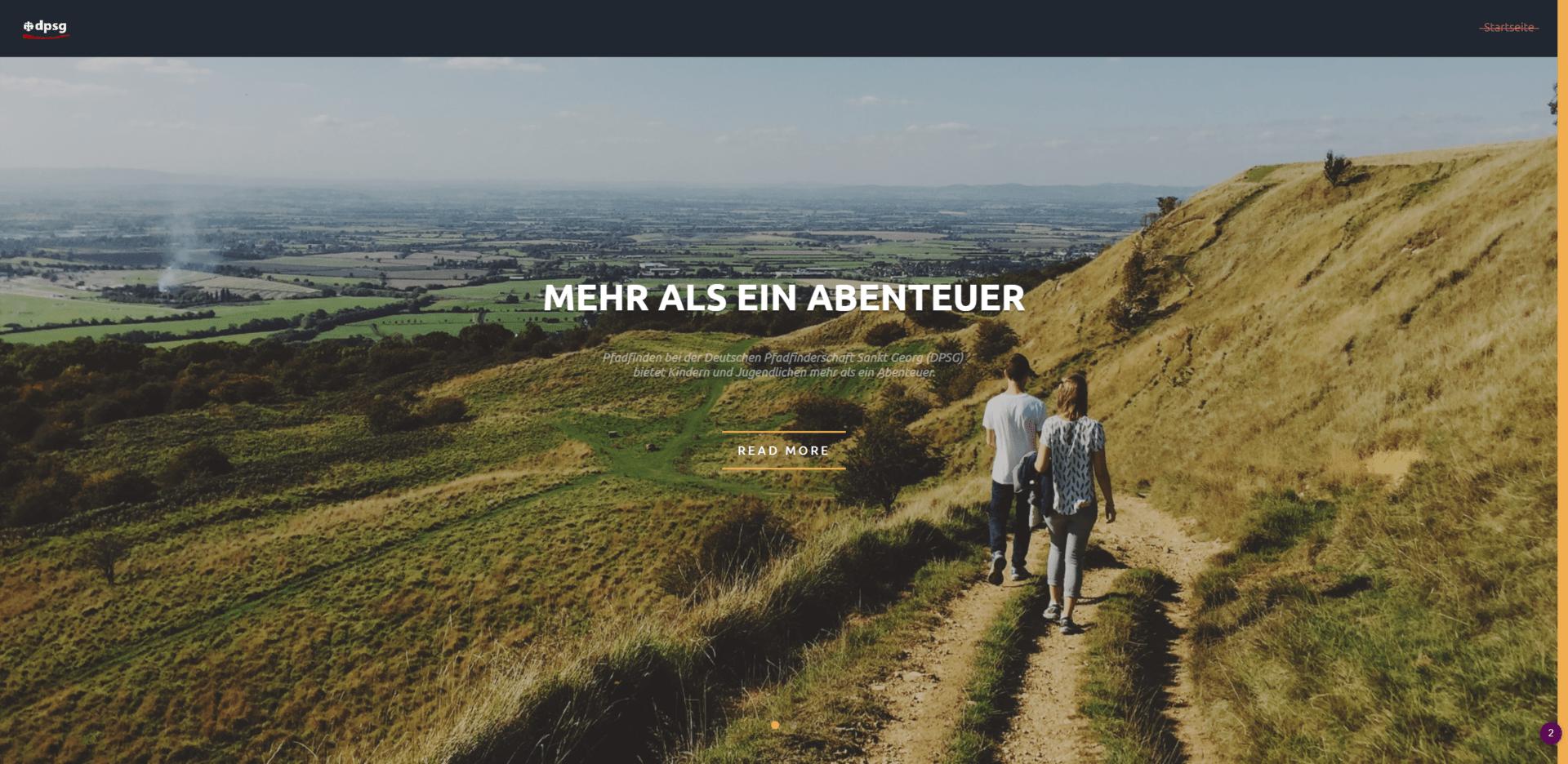 Website Pfadfinder-Junkersdorf.de
